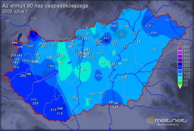 csapadék térkép csapadéktérkép 0904 0906 | AgroLine.hu csapadék térkép